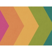 Bright Days Filler- Rainbow Chevron Horizontal Journal Card