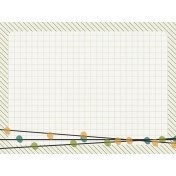 Bright Days Grid- Green Grid Journal Card (H)