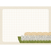 Bright Days Grid- Boat Journal Card (H)