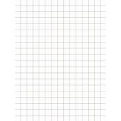 Pocket Basics Grid Neutrals- Brown 3x4