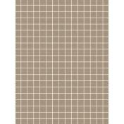 Pocket Basics Grid Neutrals- Brown2 3x4