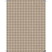 Pocket Basics Grid Neutrals- Brown2 3x4 (round)