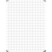 Pocket Basics Grid Neutrals- Grey 3x4 (round)