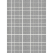 Pocket Basics Grid Neutrals- Dark Grey 3x4