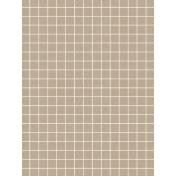 Pocket Basics Grid Neutrals- Fawn2 3x4