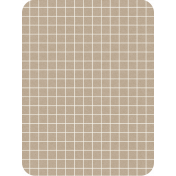 Pocket Basics Grid Neutrals- Fawn2 3x4 (round)