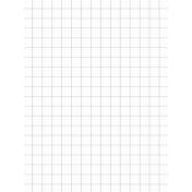 Pocket Basics Grid Neutrals- Light Grey 3x4