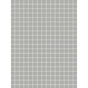 Pocket Basics Grid Neutrals- Light Grey2 3x4
