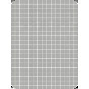 Pocket Basics Grid Neutrals- Light Grey2 3x4 (round)