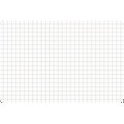 Pocket Basics Grid Neutrals- Brown 4x6 (round)