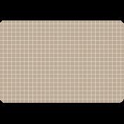 Pocket Basics Grid Neutrals- Fawn2 4x6 (round)