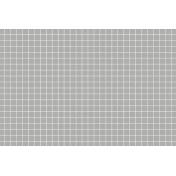 Pocket Basics Grid Neutrals- Light Grey2 4x6