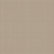 Pocket Basics Grid Neutrals- Brown2 Paper