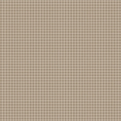 Pocket Basics Grid Neutrals- Brown2 Paper