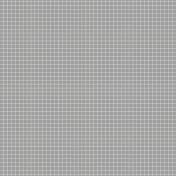Pocket Basics Grid Neutrals- Dark Grey2 Paper
