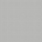 Pocket Basics Grid Neutrals- Light Grey2 Paper
