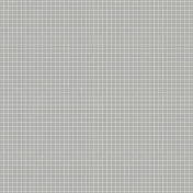 Pocket Basics Grid Neutrals- Light Grey2 Paper
