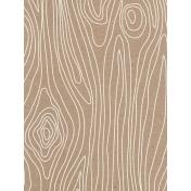 Pocket Basics Kraft- Wood Grain Journal Card