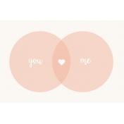 Already There Journal Card 1- Love Venn Diagram