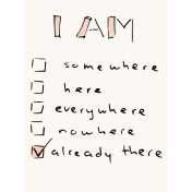 Already There Journal Card 2- Checklist