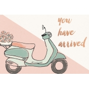 Already There Journal Card 2- Vespa