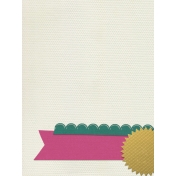 Bright Days Seal Journal Card (Vertical)