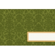 Bright Days Title Cards- Green Damask (Horizontal)