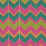 Bright Days- Large Chevron Paper