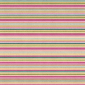 Bright Days- Horizontal Stripe Paper
