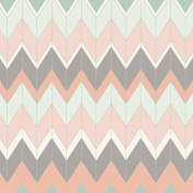 Already There Paper- Pastel Chevron Paper