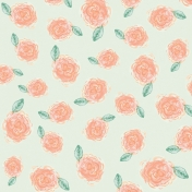 Already There Paper- Floral Paper