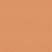 Bright Days Quatrefoil Papers- White on Orange