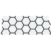 Already There- Layered Washi Tape Template- Honeycomb