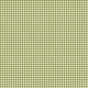 Bright Days Extra Papers- Houndstooth Green