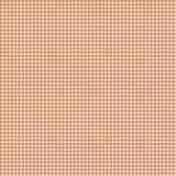 Bright Days Extra Papers- Houndstooth Orange