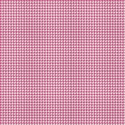 Bright Days Extra Papers- Houndstooth Pink