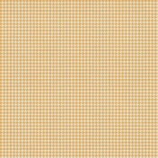 Bright Days Extra Papers- Houndstooth Yellow