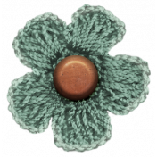 Already There- Knit Flower