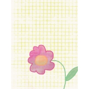 Good Day- Journal Card- Flower