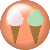Good Day- Flair- Ice Cream Cones