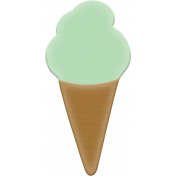 Good Day- Rubber Elements- Ice Cream Cone 02