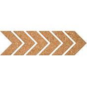 Bright Days Elements- Cork Side Chevron