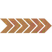 Bright Days Elements- Painted Cork Side Chevron