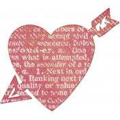 Bright Days Elements- Pink Veneer Heart Cut-Out2