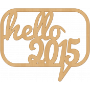 Bright Days Elements- Veneer Hello 2015 Cut-Out