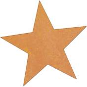 Bright Days Elements- Painted Veneer Star1