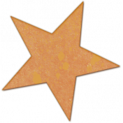 Bright Days Elements- Painted Veneer Star3