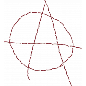Anarchy in the UK- Stitched Anarchy Symbol