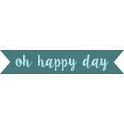 Good Day- Happy Day Tag