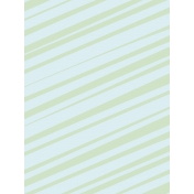 Work Day Journal Cards- Green & Blue Diagonals